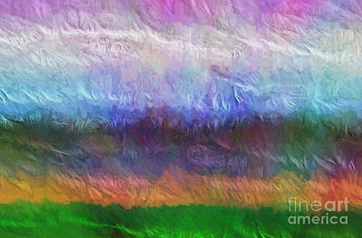 Painting - Heaven And Earth Mixed Media Painting by Heinz G Mielke