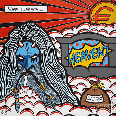 Heaven And Hell Part 1 - Heaven? Original by Simon Moulding