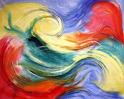 Heaven Art Print by Anthony Falbo