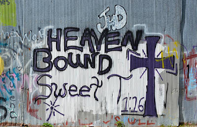 Photograph - Heaven Bound - Graffiti Art by RD Erickson