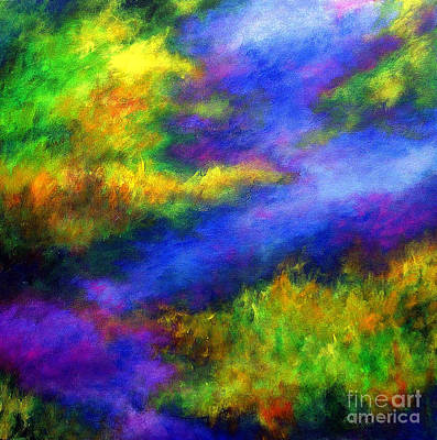 Art Print featuring the painting Heaven II by Alison Caltrider