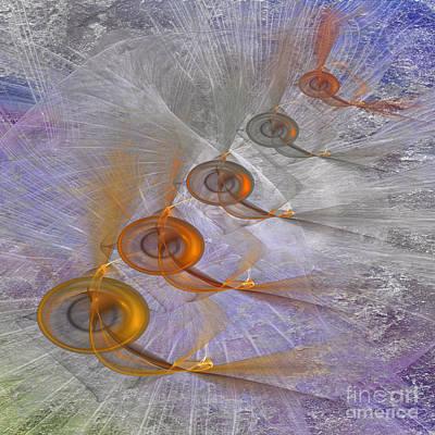 Digital Art - Heaven Knows - Square Version by John Robert Beck