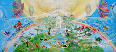 Painting - Heaven On Earth by Anne Cameron Cutri