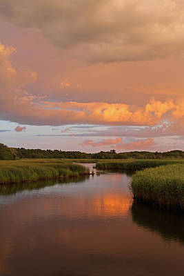 Storm Clouds Cape Cod Photograph - Heaven On Earth by Juergen Roth