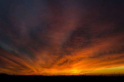 Photograph - Heaven On Fire by Jeffrey Teeselink