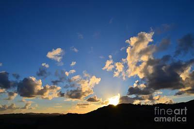 Religious Photograph - Heaven Proclaims by Sharon Soberon