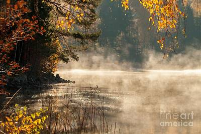 Art Print featuring the photograph Heavenly Atmosphere by Rose-Maries Pictures