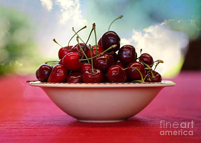 Photograph - Heavenly Cherries by Carol Groenen