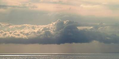 Photograph - Heavenly Clouds Panorama by Patricia Strand