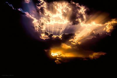 Photograph - Heavenly Energy by Glenn Feron