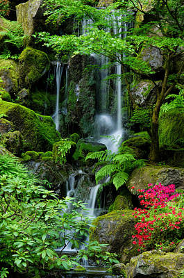 Photograph - Heavenly Falls Serenity by Don Schwartz