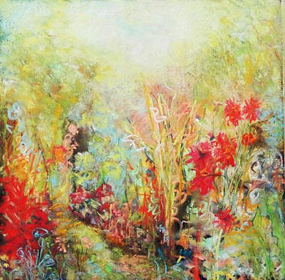 Painting - Heavenly Garden by Katie Black