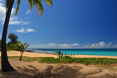 Photograph - Heavenly Haena Beach by Marie Hicks