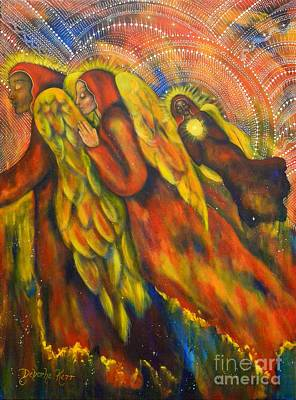Painting - Heavenly Messengers by Deborha Kerr