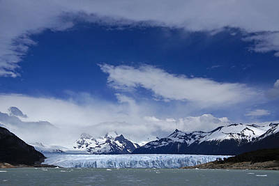 Photograph - Heavenly Perito Moreno Glacier by Michele Burgess