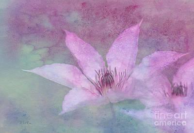 Stamen Digital Art - Heavenly Petals by Betty LaRue