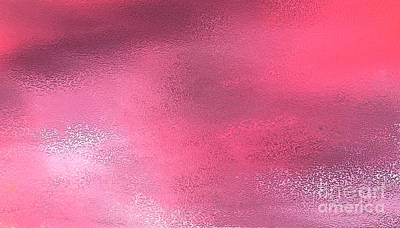 Digital Art - Heavenly Pink by Danuta Bennett
