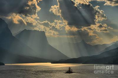 Photograph - Heavenly Rays by Adam Jewell