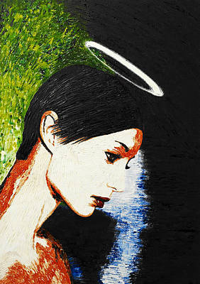 Indian Contemporary Artist Painting - Heavenly by Sanjay Thapar