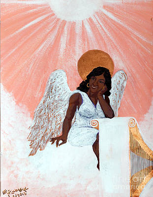 Painting - Heavenly Soul by Edward Fuller