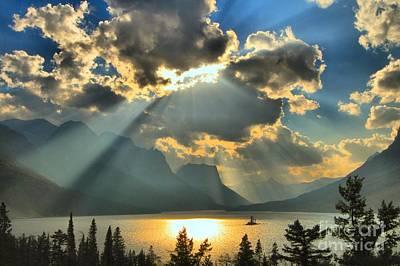 Photograph - Heavenly Spotlight by Adam Jewell