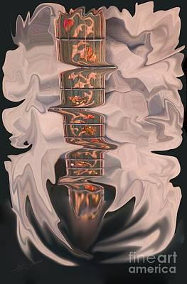 Heavenly Strings Art Print by Steven Lebron Langston