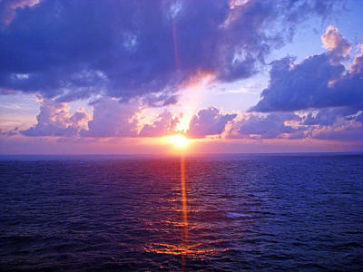 Sunset Photograph - Heavenly Sunset by Aimee L Maher Photography and Art Visit ALMGallerydotcom