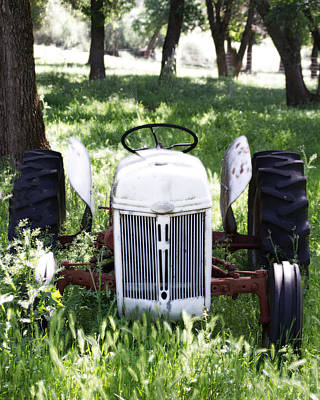 Photograph - Heavenly Tractor by Holly Blunkall