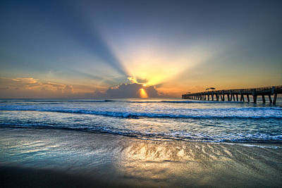 Rays Photograph - Heaven's Door by Debra and Dave Vanderlaan