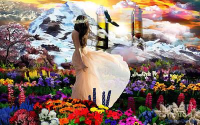 Prophetic Art Digital Art - Heavens Gate by Dolores Develde