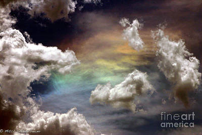 Art Print featuring the photograph Heaven's Gate by Mitch Shindelbower