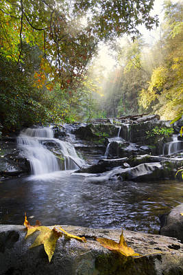 Cherokee Photograph - Heaven's Light by Debra and Dave Vanderlaan