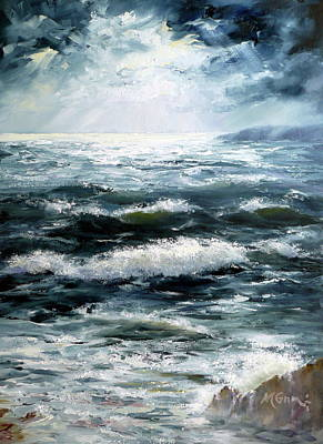 Marie Green Painting - Heavens Light by Marie Green