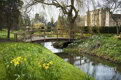 Heaver Castle In Spring Art Print by Donald Davis