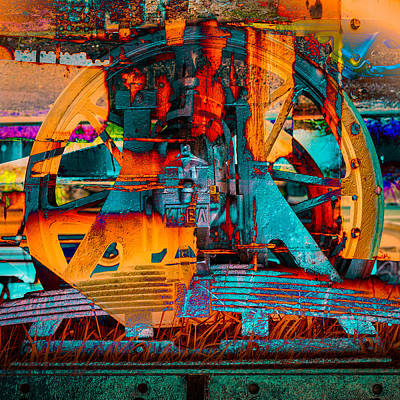 Digital Art - Heavy Duty I by Andy Bitterer