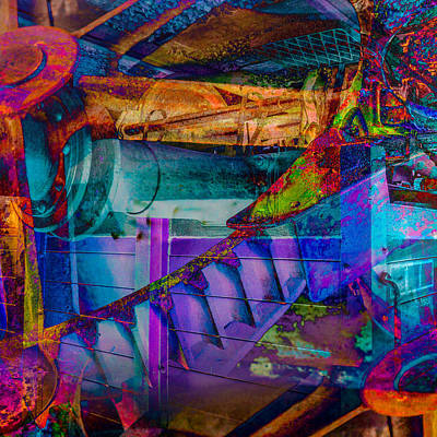 Digital Art - Heavy Duty IIi by Andy Bitterer