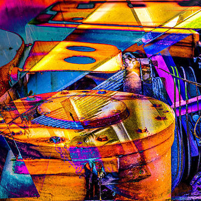 Digital Art - Heavy Duty Iv by Andy Bitterer
