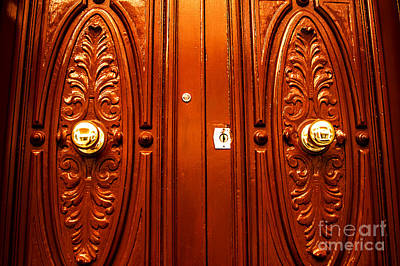 Photograph - Heavy Malta Doors by Rick Bragan