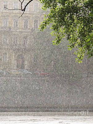 Photograph - Heavy Rain by Jan Halaska