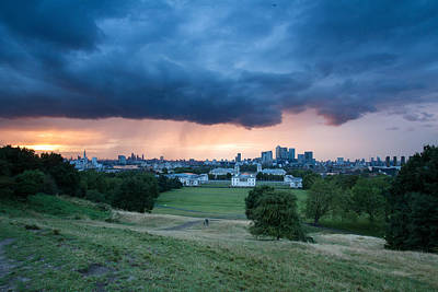 Photograph - Heavy Rains Over London by Wayne Molyneux