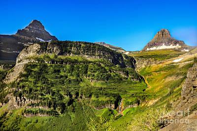 Photograph - Heavy Runner Mountain by Robert Bales