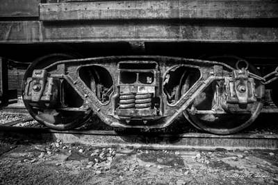 Photograph - Heavy Suspension Bw by Christopher Holmes