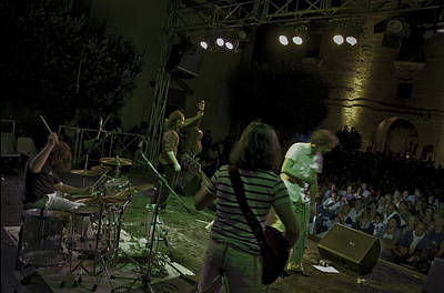 Chitarra Photograph - Heavy Wood Live by Free Press