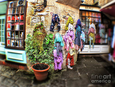 Photograph - Hebden Court Shopping Center- Peak District - England by Doc Braham