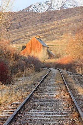 Photograph - Heber Valley Railroad by Johnny Adolphson
