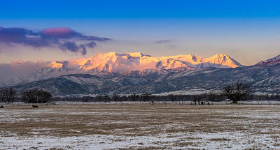 Photograph - Heber Valley Sunrise by TL  Mair