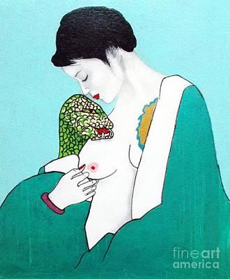 Painting - Hebi Romanshingu by Roberto Prusso