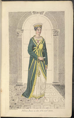 Jew Photograph - Hebrew Queen by British Library