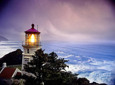 Photograph - Heceta Head Light by F Stuart Westmorland