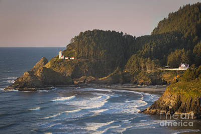 Photograph - Heceta Head Lighthouse - Oregon by Brian Jannsen